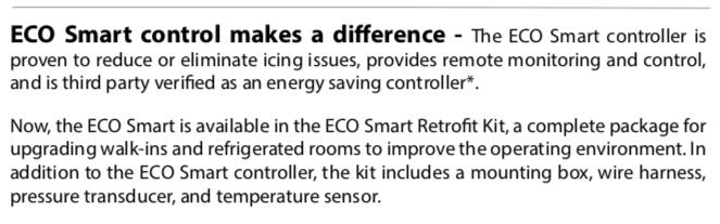 Eco Smart Retrofit Kit