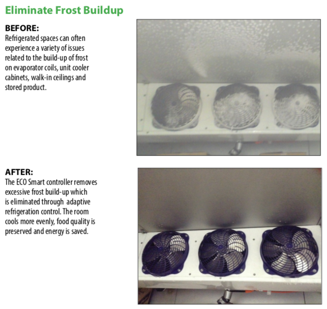 Eliminating Freezer Frost Buildup