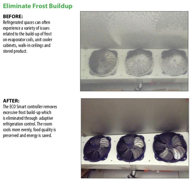 Eliminating Freezer Frost Buildup
