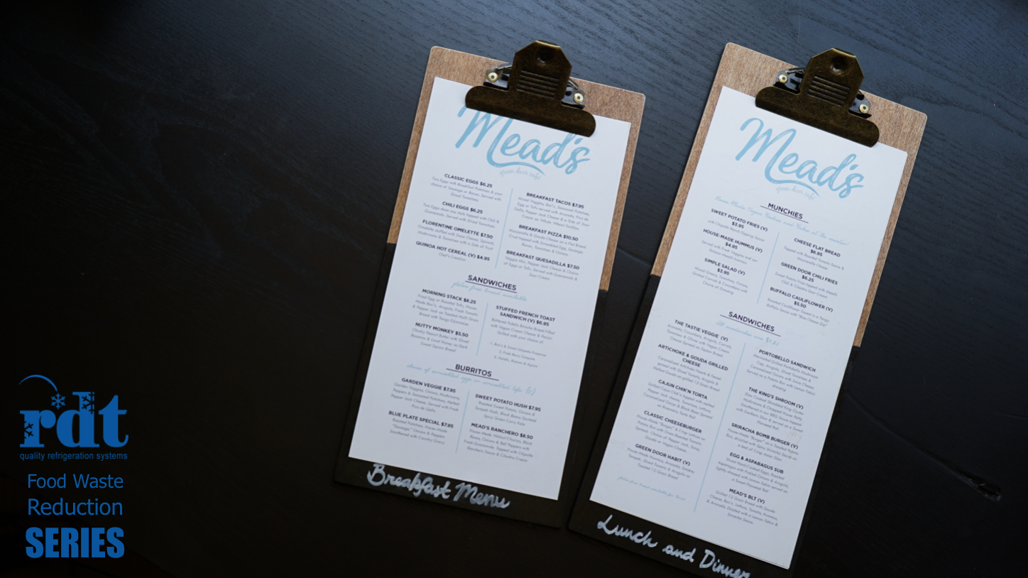 How Menu Design and Planning Can Reduce Food Waste