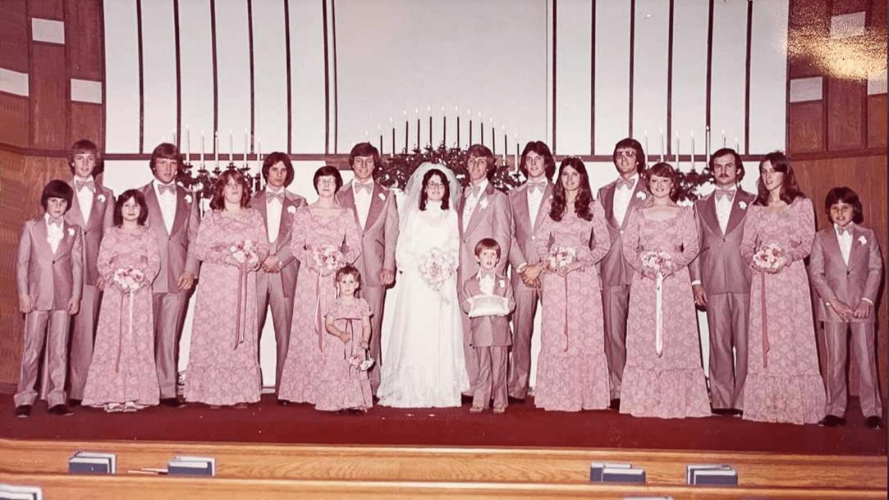 James Beam wedding