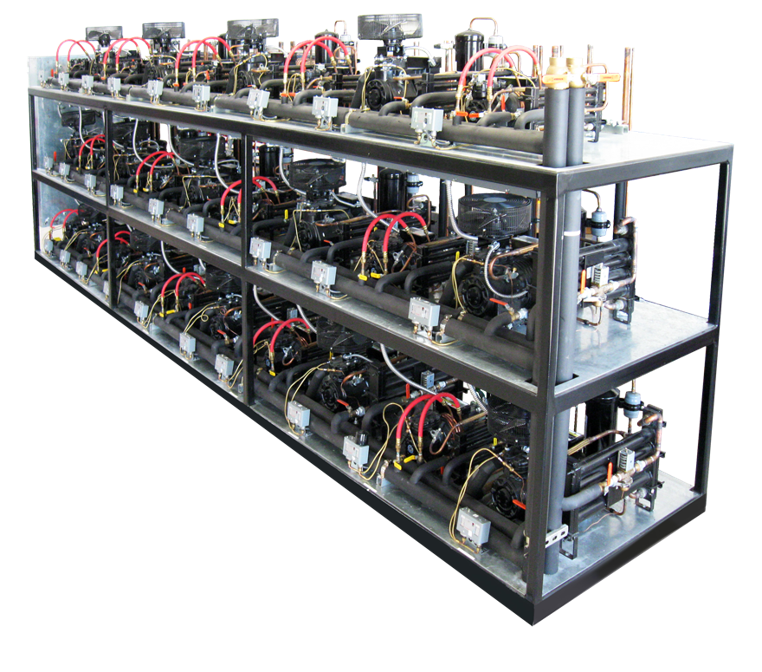 indoor water cooled refrigeration system