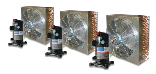 outdoor air cooled dedicated condensors
